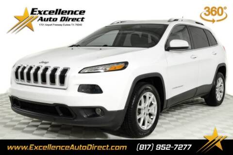 2017 Jeep Cherokee for sale at Excellence Auto Direct in Euless TX