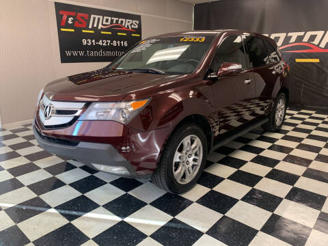 2008 Acura MDX for sale at T & S Motors in Ardmore TN