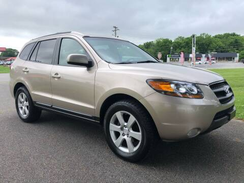 2007 Hyundai Santa Fe for sale at COUNTRYSIDE AUTO SALES 2 in Russellville KY