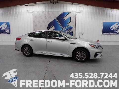 2019 Kia Optima for sale at Freedom Ford Inc in Gunnison UT