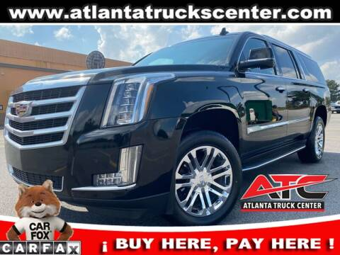 2016 Cadillac Escalade ESV for sale at ATLANTA TRUCK CENTER LLC in Brookhaven GA