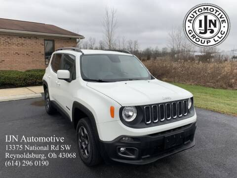 2015 Jeep Renegade for sale at IJN Automotive Group LLC in Reynoldsburg OH
