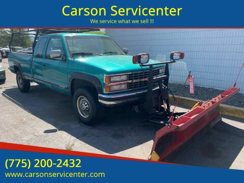 1993 Chevrolet C/K 2500 Series for sale at Carson Servicenter in Carson City NV