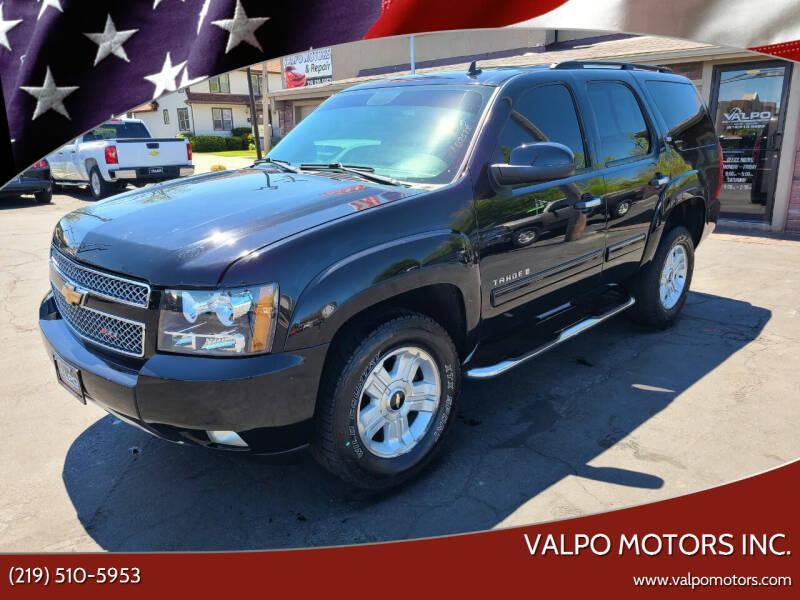 2008 Chevrolet Tahoe for sale at Valpo Motors Inc. in Valparaiso IN