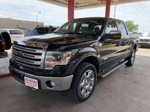 2014 Ford F-150 for sale at KD Motors in Lubbock TX