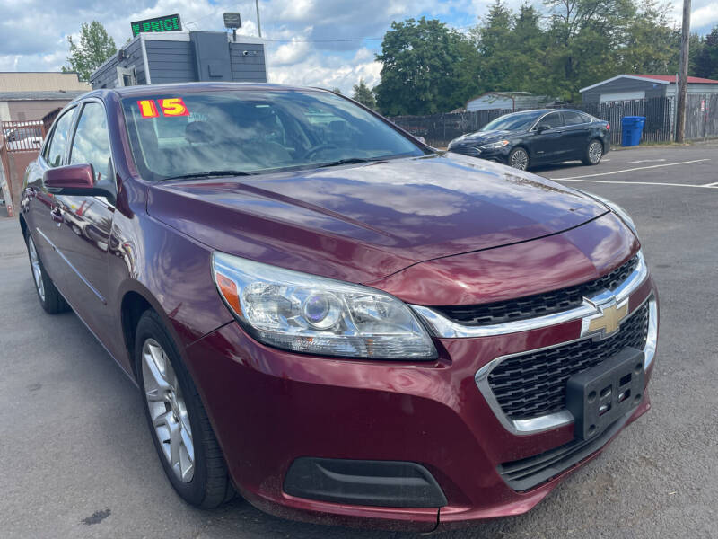 2015 Chevrolet Malibu for sale at Low Price Auto and Truck Sales, LLC in Brooks OR