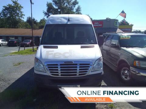 2013 Freightliner Sprinter Cargo for sale at Marino's Auto Sales in Laurel DE
