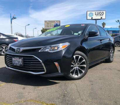 2018 Toyota Avalon for sale at LUGO AUTO GROUP in Sacramento CA