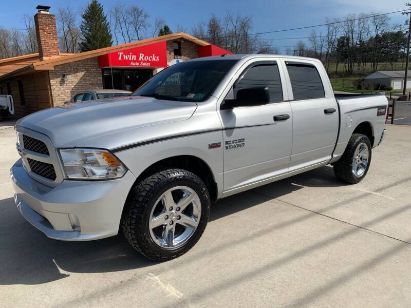 2016 RAM Ram Pickup 1500 for sale at Twin Rocks Auto Sales LLC in Uniontown PA