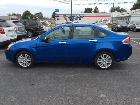 2010 Ford Focus for sale at BISHOP MOTORS inc. in Mount Carmel IL