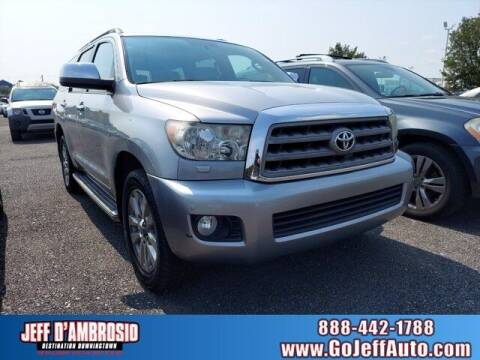 2010 Toyota Sequoia for sale at Jeff D'Ambrosio Auto Group in Downingtown PA