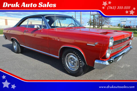 1966 Mercury Comet for sale at Druk Auto Sales in Ramsey MN