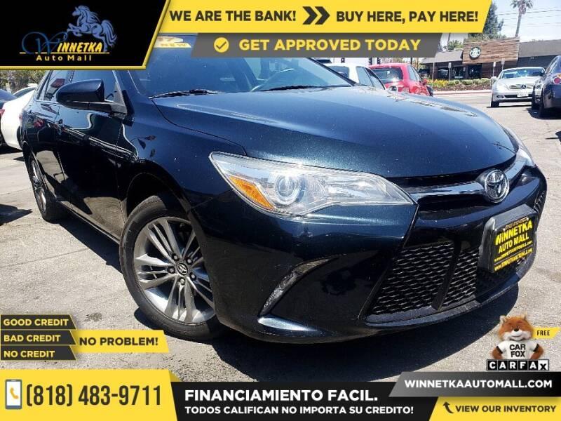 2017 Toyota Camry for sale at Winnetka Auto Mall in Winnetka CA
