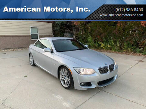 2013 BMW 3 Series for sale at American Motors, Inc. in Farmington MN