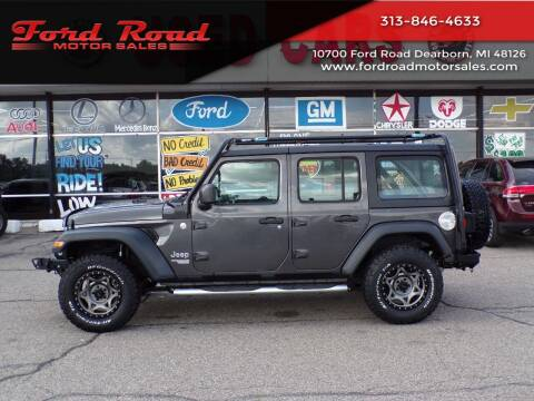 2018 Jeep Wrangler Unlimited for sale at Ford Road Motor Sales in Dearborn MI
