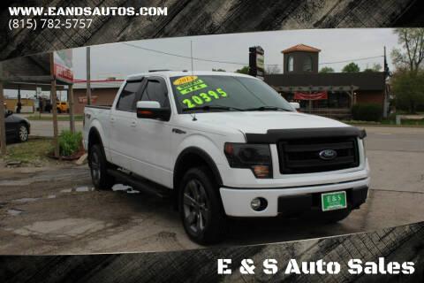 2013 Ford F-150 for sale at E & S Auto Sales in Crest Hill IL
