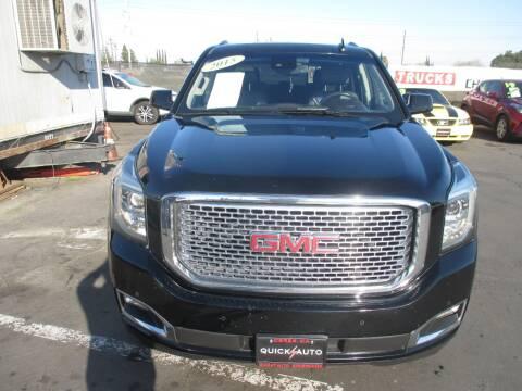 2015 GMC Yukon for sale at Quick Auto Sales in Modesto CA