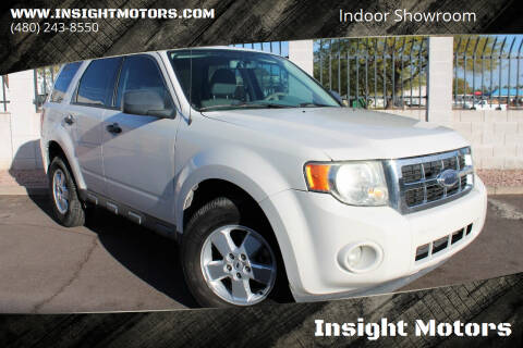 2009 Ford Escape for sale at Insight Motors in Tempe AZ
