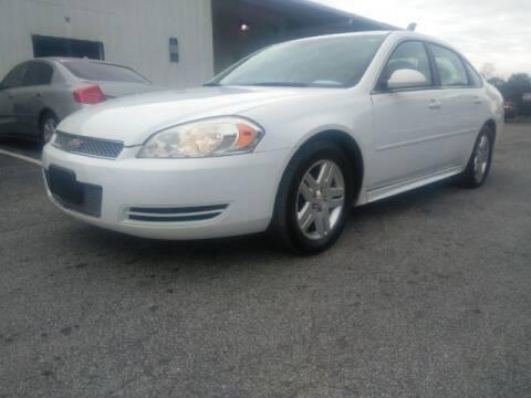 2013 Chevrolet Impala for sale at JacksonvilleMotorMall.com in Jacksonville FL