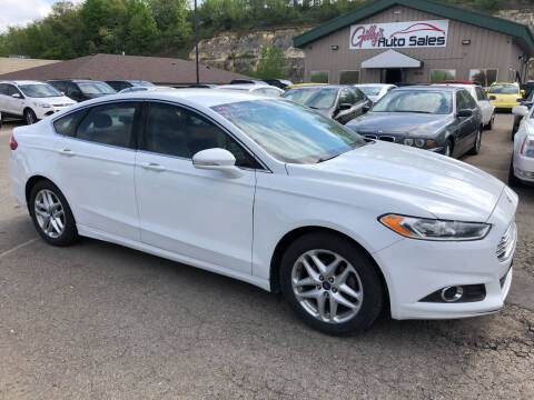 2014 Ford Fusion for sale at Gilly's Auto Sales in Rochester MN
