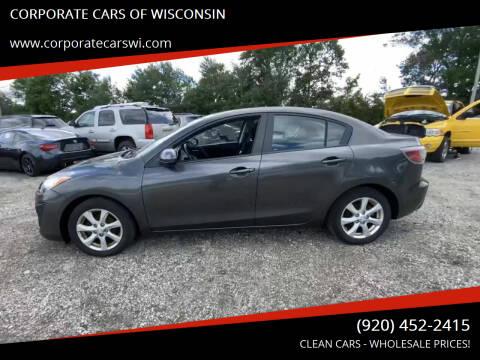 2010 Mazda MAZDA3 for sale at CORPORATE CARS OF WISCONSIN - DAVES AUTO SALES OF SHEBOYGAN in Sheboygan WI