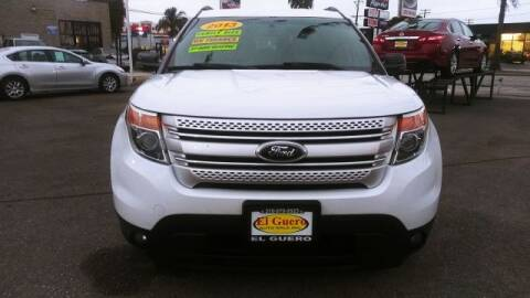 2013 Ford Explorer for sale at El Guero Auto Sale in Hawthorne CA