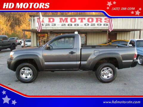 2011 Toyota Tacoma for sale at HD MOTORS in Kingsport TN