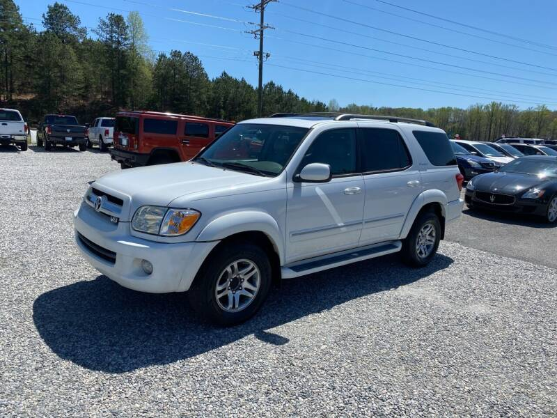 2006 Toyota Sequoia for sale at Billy Ballew Motorsports in Dawsonville GA