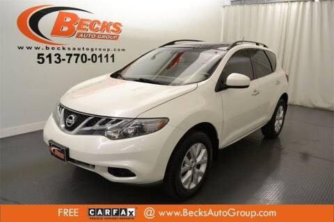 2014 Nissan Murano for sale at Becks Auto Group in Mason OH