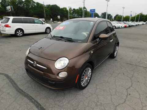 2015 FIAT 500 for sale at Paniagua Auto Mall in Dalton GA