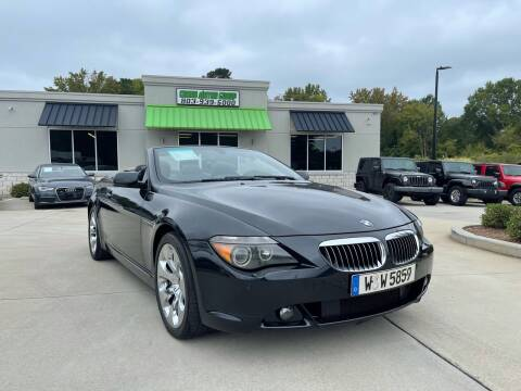 2006 BMW 6 Series for sale at Cross Motor Group in Rock Hill SC