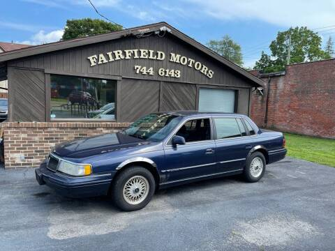 1994 Lincoln Continental for sale at Fairfield Motors in Fort Wayne IN