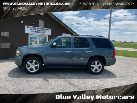 2010 Chevrolet Tahoe for sale at Blue Valley Motorcars in Stilwell KS