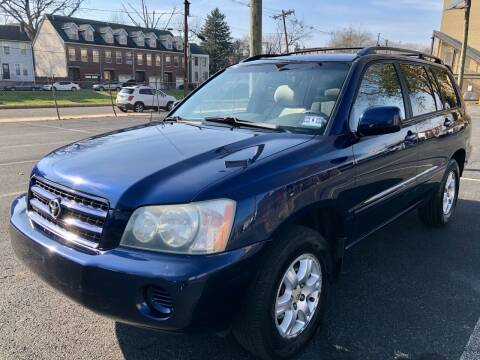 2003 Toyota Highlander for sale at Perfect Choice Auto in Trenton NJ