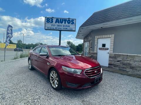 2013 Ford Taurus for sale at 83 Autos in York PA