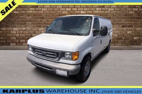 2006 Ford E-Series Cargo for sale at Karplus Warehouse in Pacoima CA