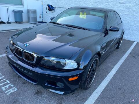 2003 BMW M3 for sale at Cars4U in Escondido CA