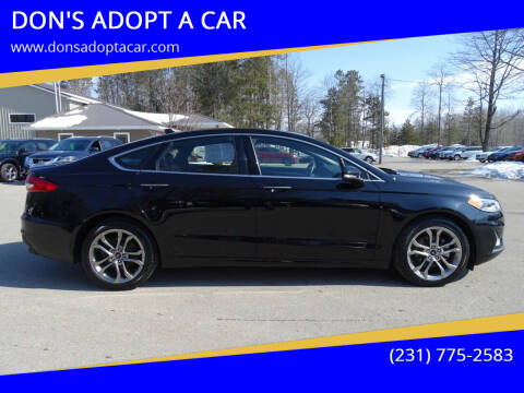 2020 Ford Fusion for sale at DON'S ADOPT A CAR in Cadillac MI