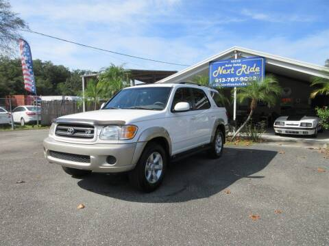 2001 Toyota Sequoia for sale at NEXT RIDE AUTO SALES INC in Tampa FL