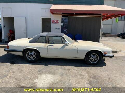 1987 Jaguar XJ-Series for sale at About New Auto Sales in Lincoln CA