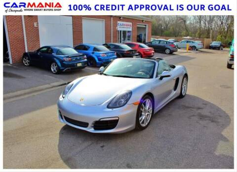 2015 Porsche Boxster for sale at CARMANIA LLC in Chesapeake VA