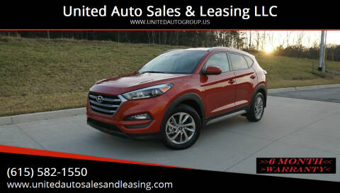 2017 Hyundai Tucson for sale at United Auto Sales & Leasing LLC in La Vergne TN