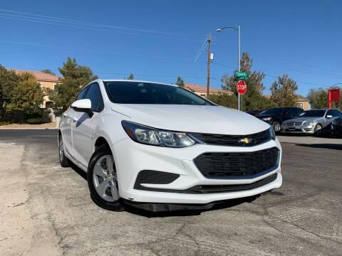 2018 Chevrolet Cruze for sale at Boktor Motors in Las Vegas NV