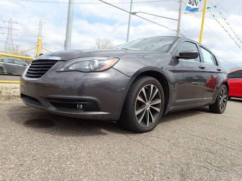 2014 Chrysler 200 for sale at RPM AUTO SALES in Lansing MI