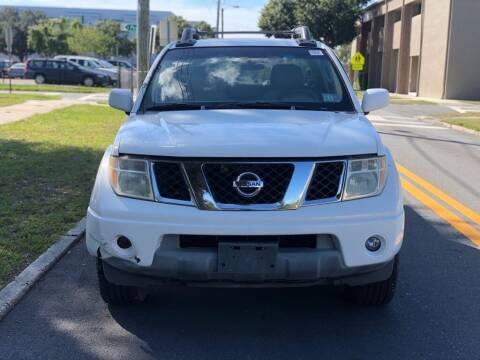 2005 Nissan Frontier for sale at Carlando in Lakeland FL