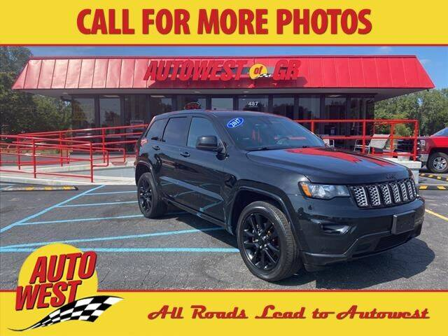 2017 Jeep Grand Cherokee for sale at Autowest of GR in Grand Rapids MI