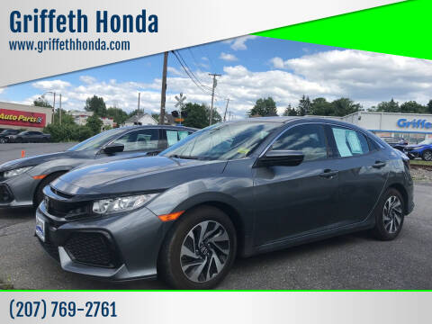 2017 Honda Civic for sale at Griffeth Honda in Presque Isle ME
