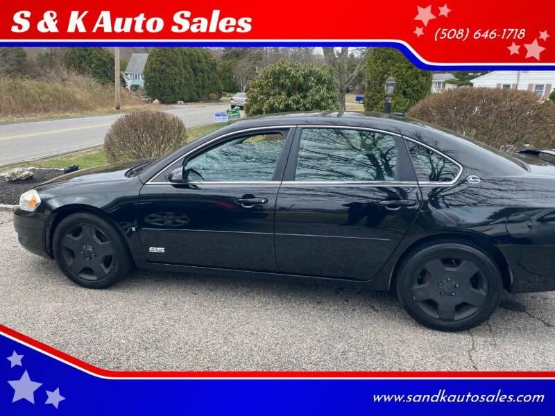 2007 Chevrolet Impala for sale at S & K Auto Sales in Westport MA