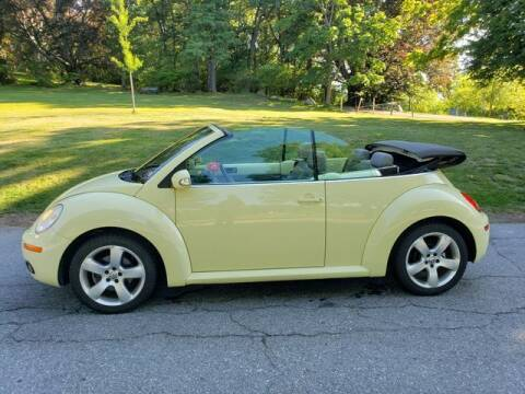 2006 Volkswagen New Beetle Convertible for sale at NEW ENGLAND AUTO CENTER in Lowell MA