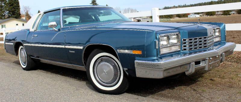1977 Oldsmobile Toronado FWD 6.6L V8 for sale at J.K. Thomas Motor Cars in Spokane Valley WA
